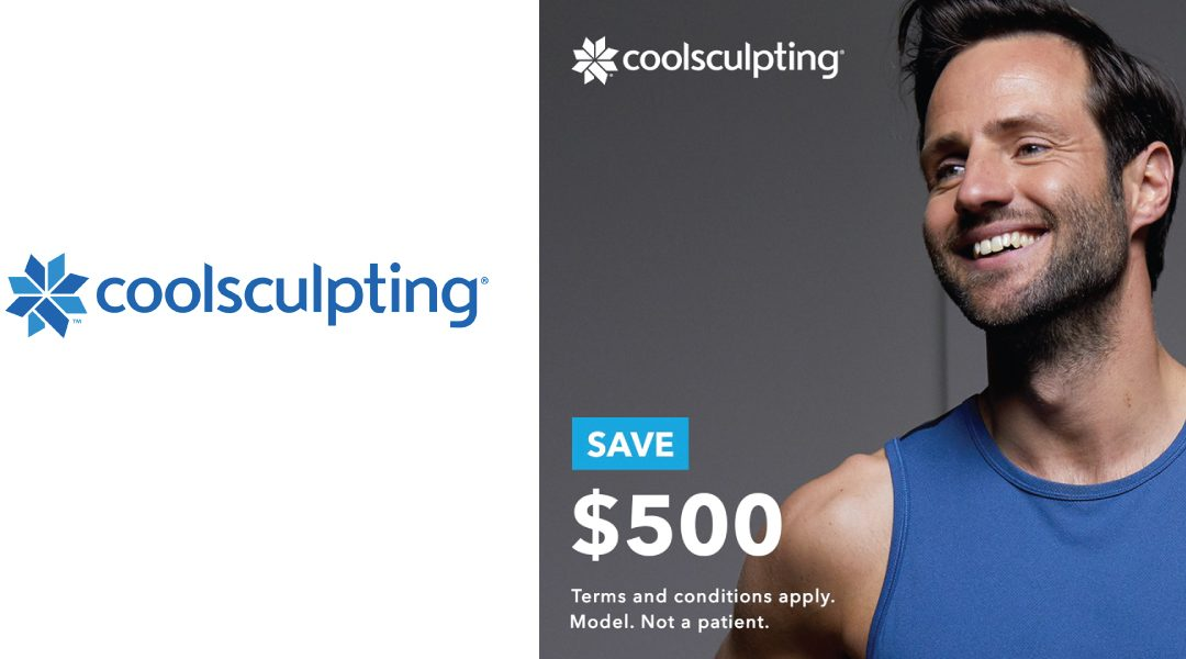 Save $500 on Select CoolSculpting Packages Now Until December 30, 2019