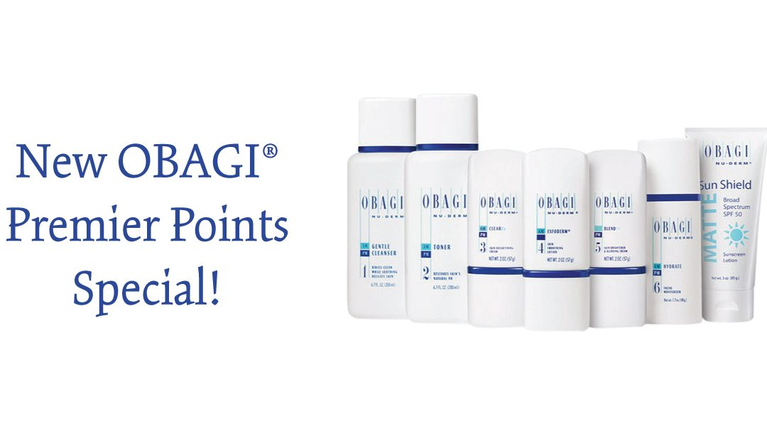 Special Premier Points Offer for Our Nu-Derm® Users Through November 30, 2019